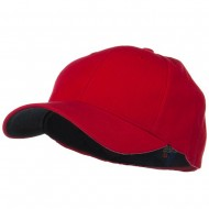 Low Profile Washed Flex Cap - Red
