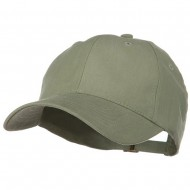 Low Profile Light Weight Brushed Cap - Light Olive