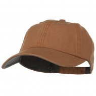 Low Profile Normal Dyed Cotton Cap - Mustard