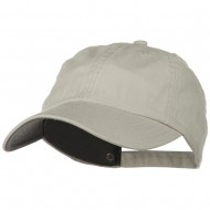 Low Profile Normal Dyed Cotton Cap - Stone
