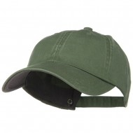 Low Profile Normal Dyed Cotton Cap - Olive