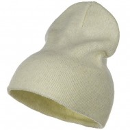 Stretch ECO Cotton Short Beanie - Milk