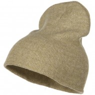 Stretch ECO Cotton Short Beanie - Khaki