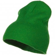 Stretch ECO Cotton Short Beanie - Kelly