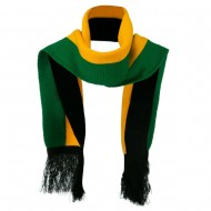 New Rasta Scarf - Green Yellow Black