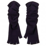 Fingerless Long Glove - Purple