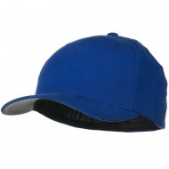 Brushed Twill Flexfit Cap - Royal