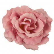 Rose King Size Pin and Clip - Light Pink