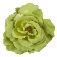Rose King Size Pin and Clip - Light Green
