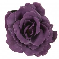 Rose King Size Pin and Clip - Lilac