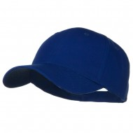 Solid Cotton Twill Low Profile Strap Cap - Royal