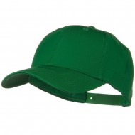Solid Cotton Twill Low Profile Snap Cap - Kelly