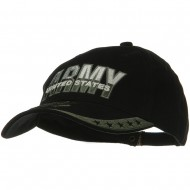 US Army Two Tone Cotton Cap - Green