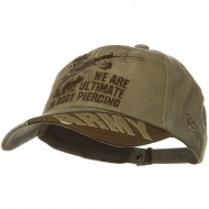 US Army Unit Pigment Dyed Caps - Piercing