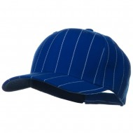 Pin Striped Adjustable Baseball Cap - Royal