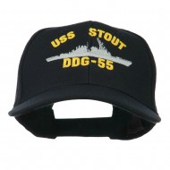 USS Navy Arleigh Burke Class Destroyer Military Cap - DDG55
