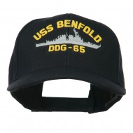USS Navy Arleigh Burke Class Destroyer Military Cap - DDG65