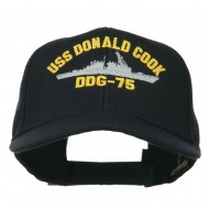 USS Navy Arleigh Burke Class Destroyer Military Cap - DDG75