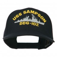 USS Navy Arleigh Burke Class Destroyer Military Cap - DDG102