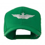 Senior Aircraft Crewman Airforce Badge Embroidered Cap - Kelly
