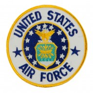 Air Force Circular Shape Military Large Patch - USAF