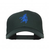 Antelope Emblem Embroidered Low Profile Cap - Dk Green