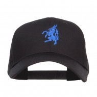 Antelope Emblem Embroidered Low Profile Cap - Black