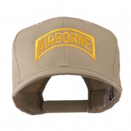 Air Force Unit of Airborne Embroidered Cap - Khaki