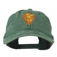 Arrowhead Embroidered Washed Cap - Dark Green