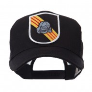 US Army Shield Military Patched Mesh Cap - 5th