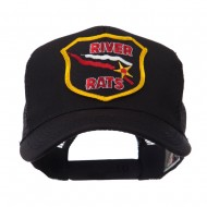 US Army Shield Military Patched Mesh Cap - River Rates
