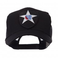 US Army Shield Military Patched Mesh Cap - 2nd