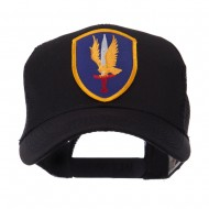 US Army Shield Military Patched Mesh Cap - 1st Aviation