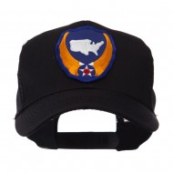 US Army Shield Military Patched Mesh Cap - Continental