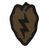 Assorted 23rd - 196th Infantry Patches - Olive