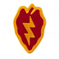 Assorted 23rd - 196th Infantry Patches - Red Yellow