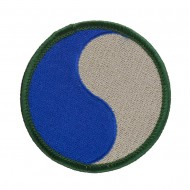 Assorted 23rd - 196th Infantry Patches - Blue Grey