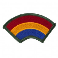 Assorted 23rd - 196th Infantry Patches - Rainbow