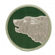 Assorted 23rd - 196th Infantry Patches - Green