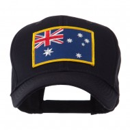 Asia Flag Embroidered Patch Cap - Australia