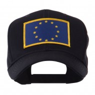 Asia Flag Embroidered Patch Cap - European
