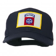82nd Air Borne Patched Cap - Navy