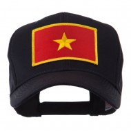Asia Flag Embroidered Patch Cap - Vietnam