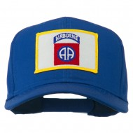 82nd Air Borne Patched Cap - Royal