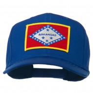 Middle State Arkansas Embroidered Patch Cap - Royal