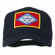 Middle State Arkansas Embroidered Patch Cap - Navy