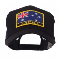 Asia, Australia and Other Flag Letter Patched Mesh Cap - Australia