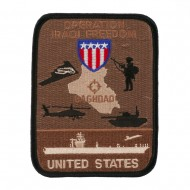 Assorted Operation Patches - Black Tan
