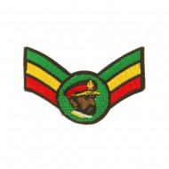 Assorted Rasta Patch-Crown Wing King Small