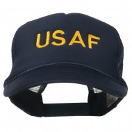 USAF Military Embroidered Mesh Cap - Navy